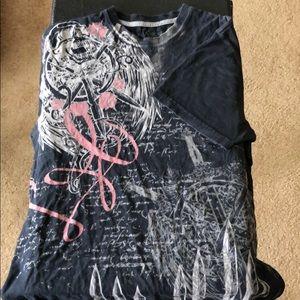 Marc Ecko designs t-shirt in Size L.